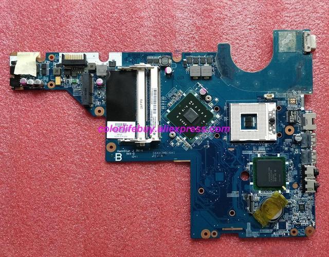 정품 623909 001 daax3mb16a1 ddr2 노트북 마더 보드 메인 보드 hp g56 cq56 시리즈 노트북 pc 용
