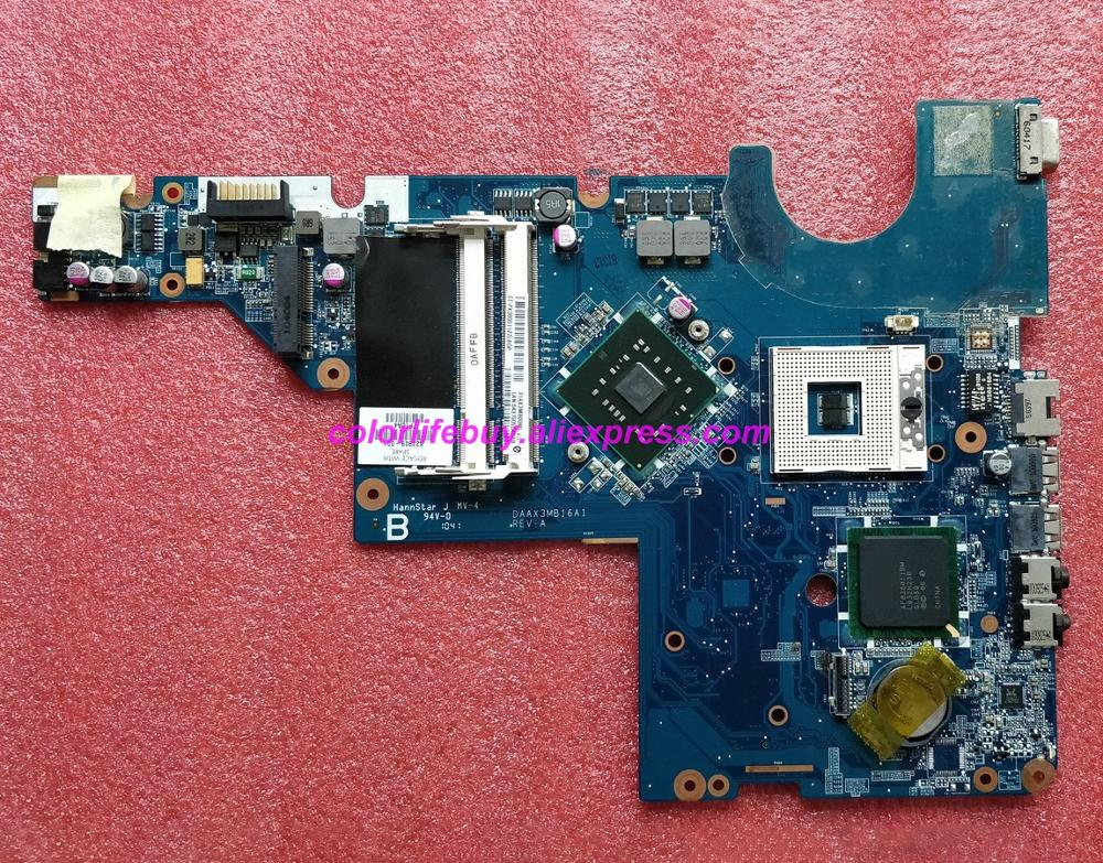 Genuine 623909-001 DAAX3MB16A1 DDR2 Laptop Motherboard Mainboard for HP G56 CQ56 Series NoteBook PC