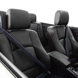 Image 5 - Ceinture de siège de voiture, sangle de sécurité pour véhicule automobile, 3.8m, ruban de course bleu, rouge, vente en gros
