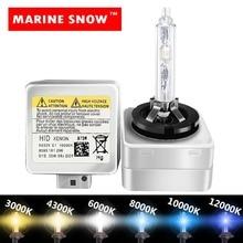 MARINE SNOW xenon Car light D1S D2S D3S D4S DSS HID Bulb CBI headlight bulb D1 D2 D3 D4 D1R D2R D3R d4r headlamp 1PAir