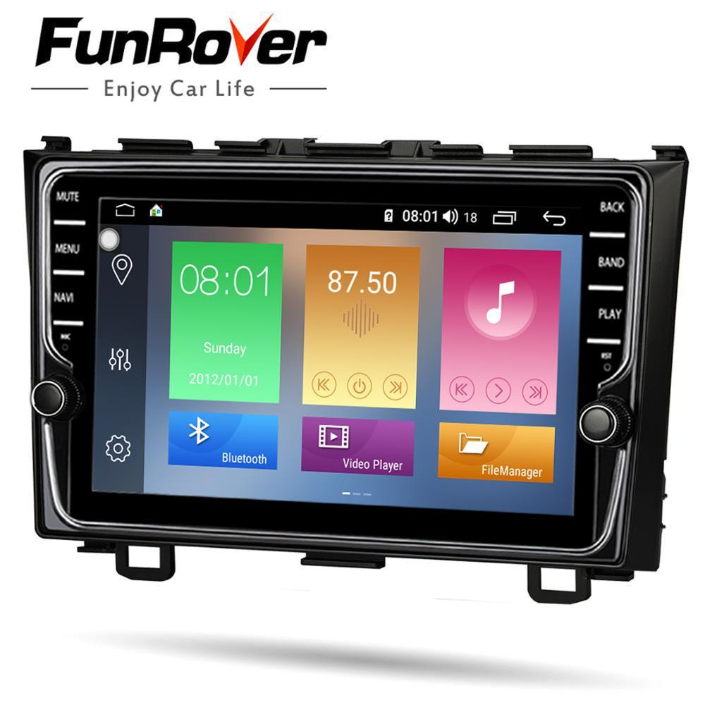 Lecteur multimédia dvd de voiture Funrover 8 cœurs Android 8.1 pour Honda CRV 2006-2011 autoradio stéréo gps navi DSP 4G 64G LTE - 4