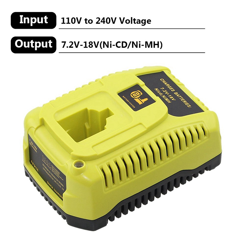 Hot TTKK For Replacement Dewalt Charger For Dewalt Dc9310 Battery Charger Fast Charge 7 2V 18V Ni Cd Ni Mh Battery Dc9096 Dc90 in Chargers from Consumer Electronics