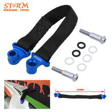 Motorcycle Red Blue 325MM Rear Rescue Pull Strap Sling Belt For YAMAHA YZ250F YZ450F YZF250 YZF450 2014 2015 2016 2017 2018 2019