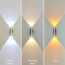 Indoor led wall light 6W aluminum sconce Modern decorative lamp