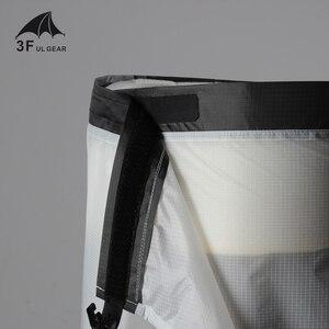 Image 4 - 3F UL GEAR kolarstwo Camping piesze wycieczki spodnie przeciwdeszczowe lekka wodoodporna spódnica przeciwdeszczowa 15D silikon tylko 65g