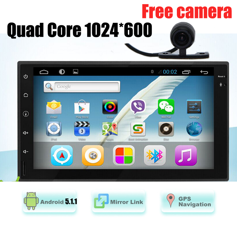 7 inch 2 Din Android 8.0 Car Radio GPS Navigation Universal Car Multimedia MP5 Bluetooth FM USB Touch Screen Car Audio Stereo