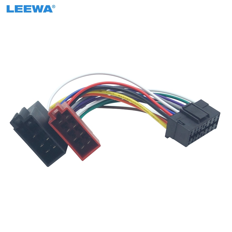 LEEWA 30X Car Radio CD/DVD Stereo ISO Wiring Harness Adapter For Sony To  Peugeot Audio Video 2 Head Speaker Wire Connector Cable|Cables, Adapters &  Sockets| - AliExpressAliExpress