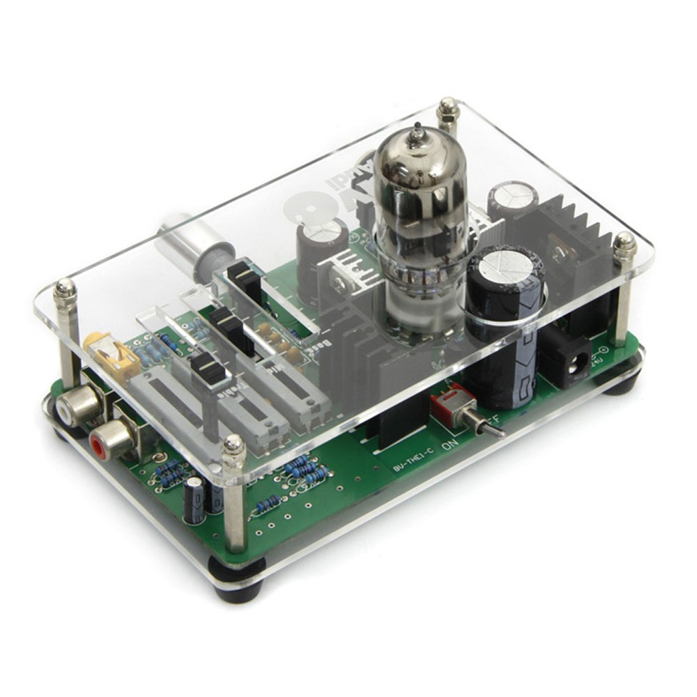 Bravo Audio V3 EQ Equalizer Tube Headphone Amplifier HIFI Music AMP