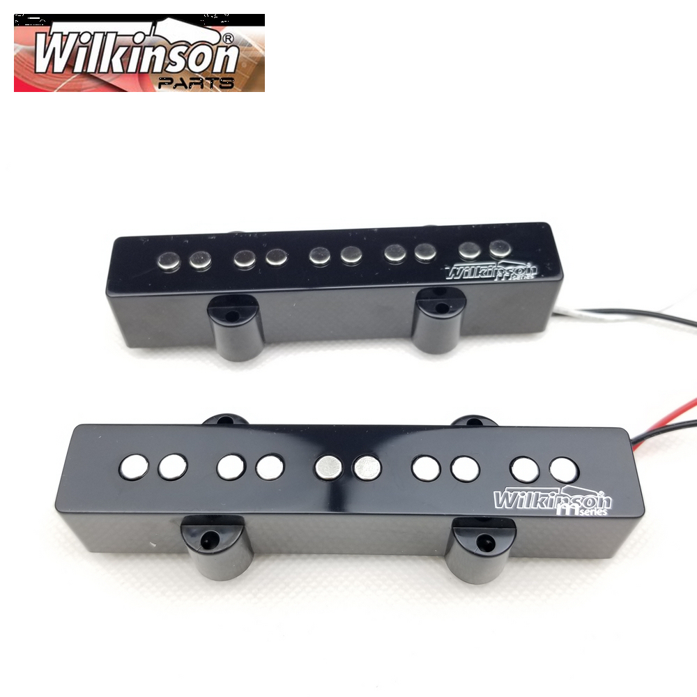 Wilkinson Lic Vintage 5 Strings JB Electric Bass Pickups Five Strings Jazz Bass Pickups WOJB5