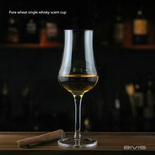 Scotland Whisky Smelling Crystal Cup Whiskey Scent Wine Cup Brandy Snifter Crystal Tulip Aroma Professional Tasting Glass Goblet