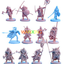 1/72 Plastic Model CMON Blood Color Furious Role Playing Board Game Toy Model Kit DIY Extended Toys For Children Free Shipping 10 pieces plastic model kit 1 72 dungeons and dragons dnd board game resin figure toys hobbies toys for children limited