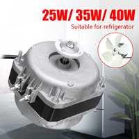 25W/35W/40W 220V 1300r/min Refrigerator Evaporator Freezer Fan Motor Set Replacement Parts Aluminum Alloy Dust Plug Design