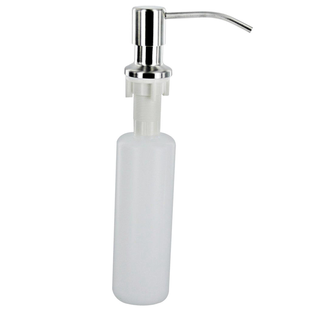 Bathroom Fixtures Ayhf-plastic Metal Bottle Kitchen White 300ml Liquid Soap Sink Dispenser Refreshing And Beneficial To The Eyes