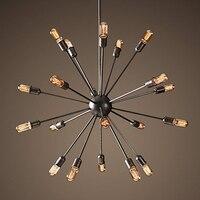 shipping light lamp holder bulb socket Restaurant satellite industry classic IRON LOFT pendant lamp vintage pendant light