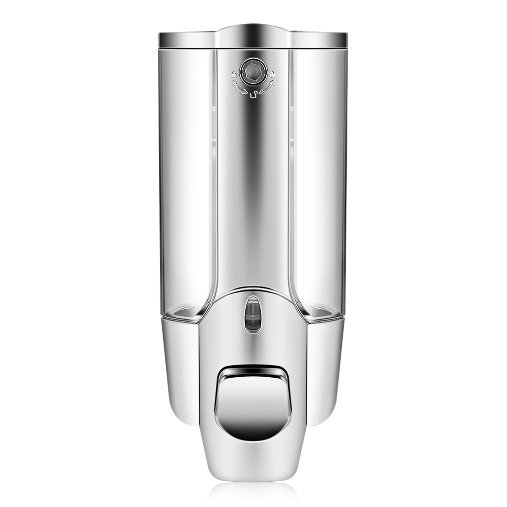 350ml Hand Soap Shampoo Dispenser Wall Mount Shower Liquid Dispensers Containers With Lock For Bathroom Washroom 1