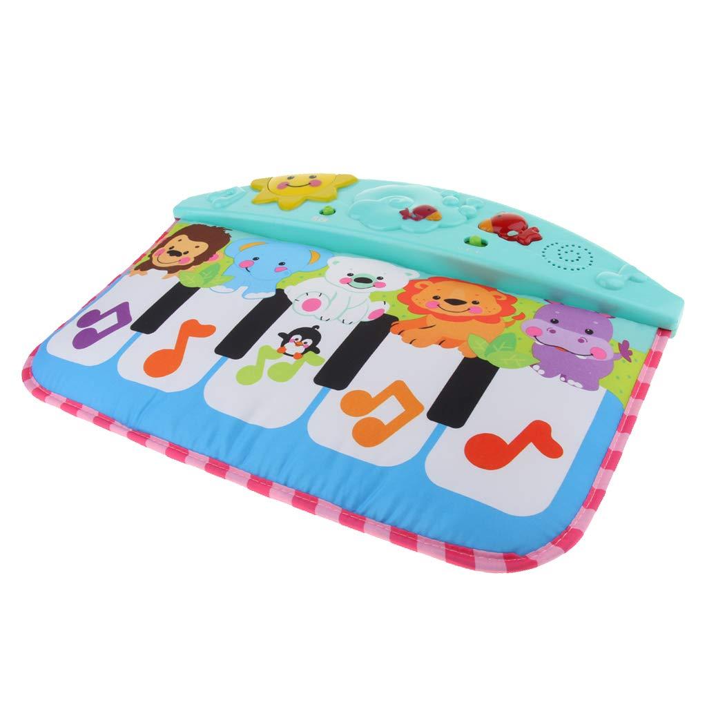 Clavier électronique Piano Mat Instrument de musique développement sensoriel apprentissage précoce jouets éducatifs cadeau pour enfants enfants