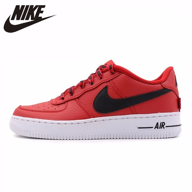 Nike Air Force Original New Arrival Men Skateboarding Shoes Motion Wear-resisting Low Help Sneakers #820438-606