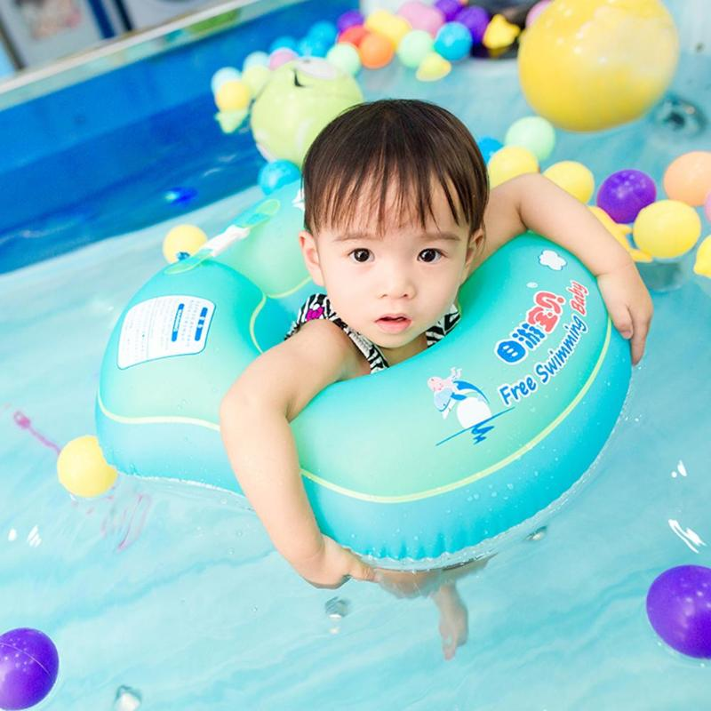 New Baby Swim Ring Inflatable Baby Floating Swimming Ring Kids Floats Seat For Swimming Pool Bathtub Swim Trainer Accessories
