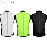 Unisex Casual Standing Collar Sleeveless Zipper Solid All Seasons Closure Loose Windproof Cycling Vest