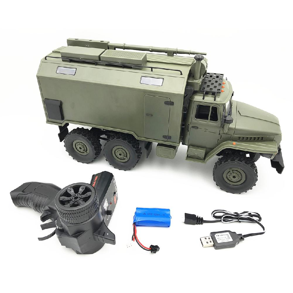 RCtown WPL B36 Ural 1/16 2.4G 6WD Rc Car Military Truck Rock Crawler Command Communication Vehicle RTR Toy тумба под телевизор woodcraft тумба тв 4