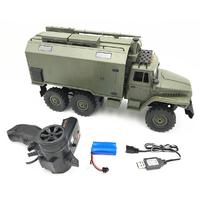 RCtown WPL B36 Ural 1/16 2.4G 6WD Rc Car Military Truck Rock Crawler Command Communication Vehicle RTR Toy