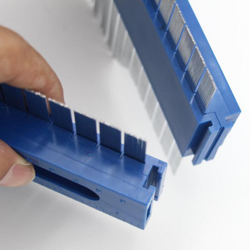 Multifunctional Contour Gauge Duplicator Profile Gauge Slimline Design Fast Tracing of Complex Contours