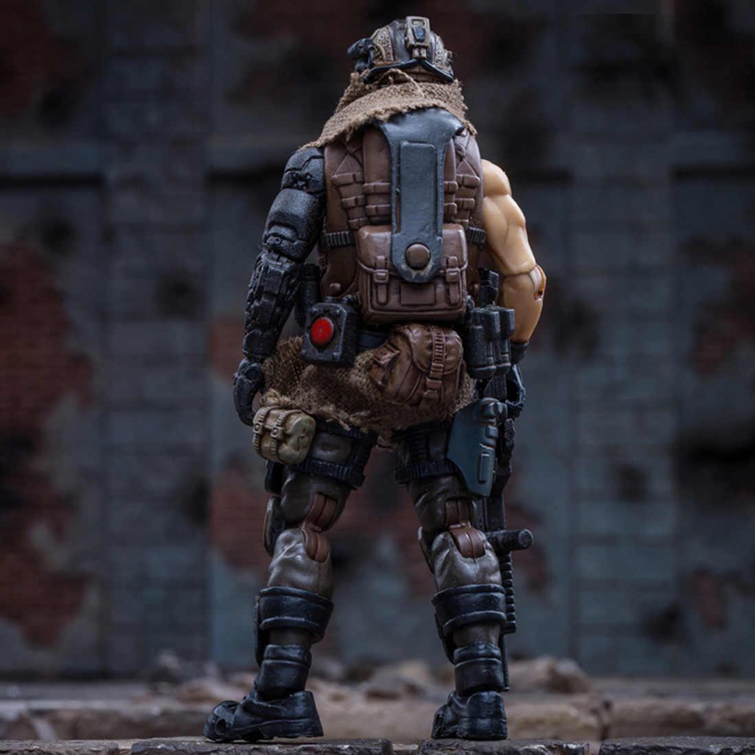 10cm 1/18 realistyczny model żołnierza z wyposażeniem 3D zachodniej azji najemnik Legion DIY montaż grzywny model żołnierza kreatywna zabawka