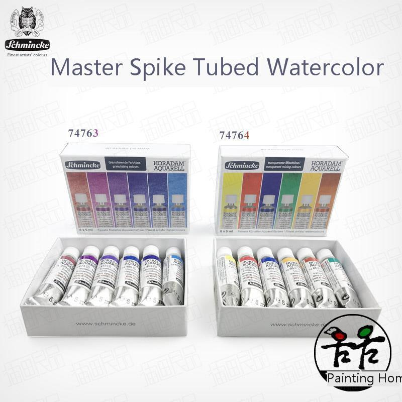 Aquarela Max Schmincke Master Level Artist Tube Watercolor 6 Colors  Set   Watercolour Gouache Paint