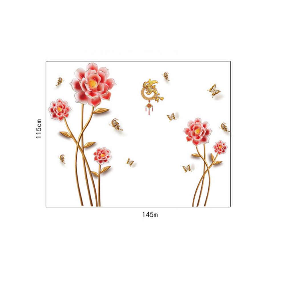 1 шт. китайский стиль настенные наклейки обои настенные наклейки s ТВ фон украшение дома Наклейка на стену