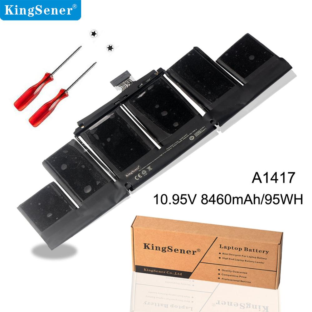 KingSener Laptop Battery For Apple A1417 A1398 (2012 Early-2013 Version)  For MacBook Retina Pro 15
