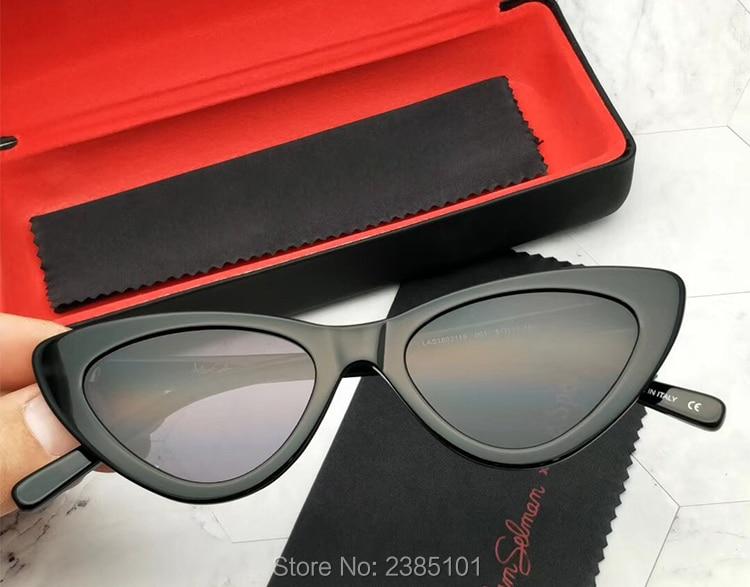 2019 New Cute Sexy Sunglasses Retro Cat Eye Sunglasses Lady Luxury Brand Designer Vintage Black Sunglasses Women Female UV400