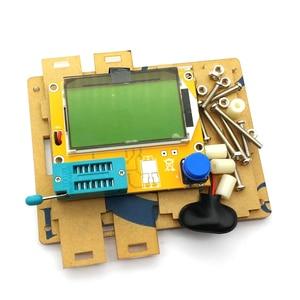 Image 2 - שקוף אקריליק מקרה פגז תיבת עבור LCR T4 ESR טרנזיסטור Tester קיבוליות