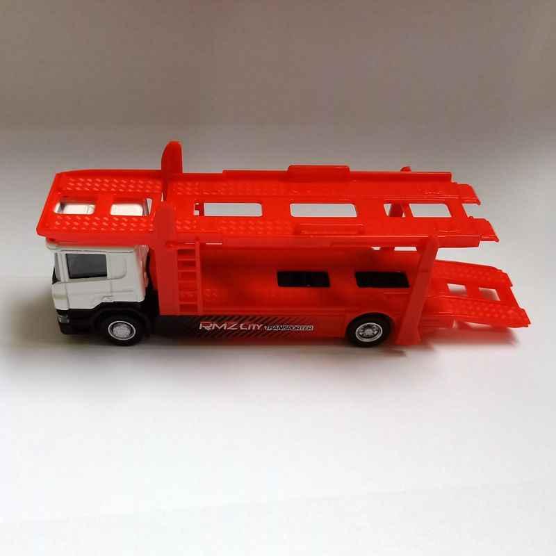 Rmz Stad/Diecast Speelgoed Auto Model/1: 64 Schaal/Scania Road Tailer Trekker/Voertuig Educatief Collectie/Cadeau Voor Kinderen