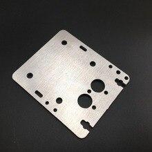 3d принтер алюминиевый FLSUN Prusa X двойная карета печатающая головка каретки для обновления FLSUN Prusa 3D принтер части