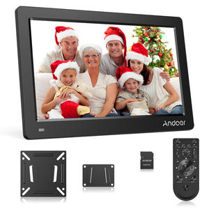 Andoer 15.6 Inch Digital Photo Picture Frame FHD 1920*1080 for Calendar/Clock