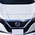 Для Nissan Leaf ZE1 2017 2018 2019 ABS хромированный гарнир передняя решетка двигателя верхняя крышка капота накладка защитные аксессуары для стайлинга а...