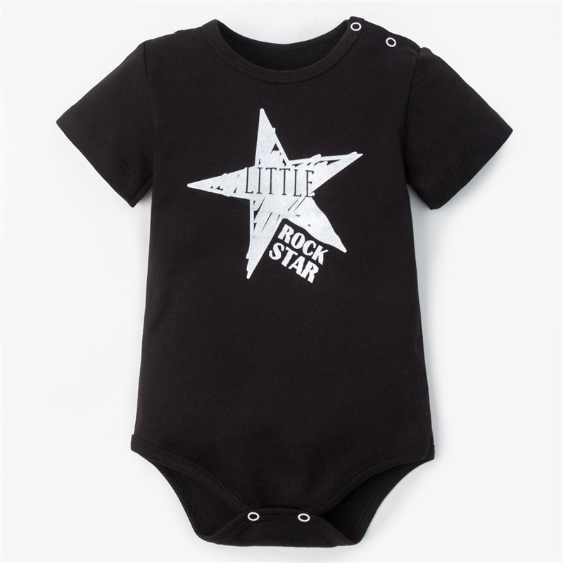Фото - Bodysuit Crumb I Rock star height 62-68 cm, (R-R 22), black 3857032 r 36