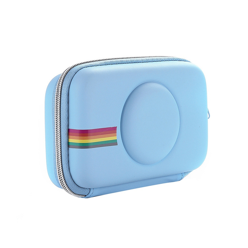 Promosi Eva Case Untuk Polaroid Snap Snap Tekan Instant Print Kamera Digital Biru 14 8 5 4cm Tas Penyimpanan Aliexpress
