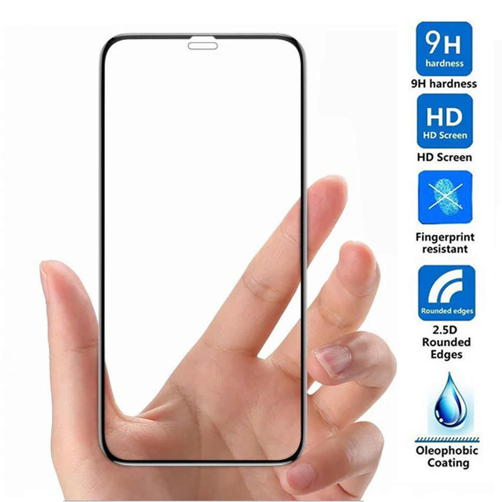 For iphone X XS MAX XR glass 2.5D full Cover Tempered Glass on iphone 6 6S 7 8 Plus Screen Protector Protective glass film