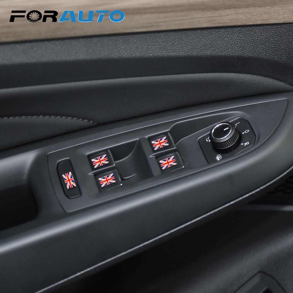 5 peças/set 3d escudo bandeira do carro adesivo reino unido eua espanha frança emblema decoração do carro decalques do carro-estilo do carro decoração de automóvel