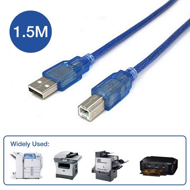 Image 5 - Прочный Расширенный usb кабель для принтера 1,5 м полный медный сердечник синхронный гибкий сканер передачи данных для USB 2,0 принтера жесткий диск-in Кабели передачи данных from Бытовая электроника