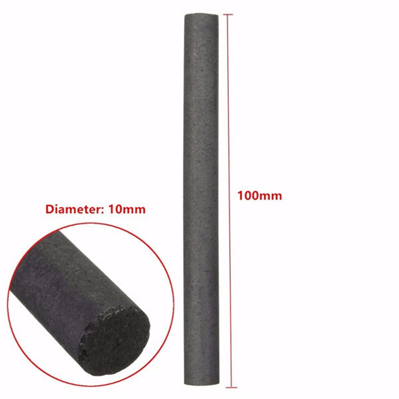 Image 4 - 5pcs 10mm 99.99% Graphite Electrode Cylinder Rod Length 100mm-in Tool Parts from Tools