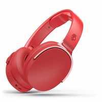 Skullcandy Hesh 3 - Auriculares de diadema inalámbricos con micrófono y Bluetooth, Rojo