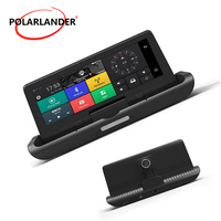 8 inch driving recorder GPS one button Android 4G navigation reversing automatic folding image integrated machine