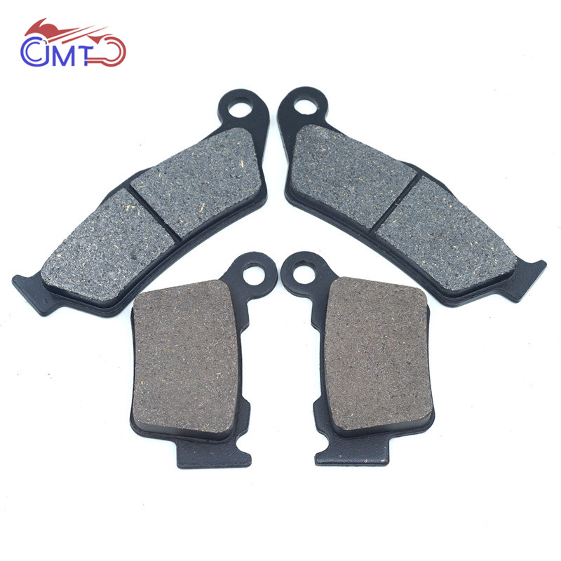 For KTM SX125 EXC200 EXC125 2004-2018 SX150 2008-2016 XC150 2010-2014 XC-W200 2007-2018 Front Rear Brake Disc Pads Kit Set image