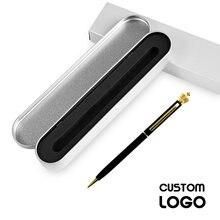 Новые металлические шариковые ручки crown со стразами с гравировкой