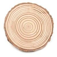 10 шт. натуральный круглый деревянный ломтик Подставка под кружку кружка для чая кофе Напитки держатель @@#