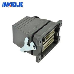 Image 4 - Mk he 048 1 48 Pins Rechthoekige Socket Harting Connector Meerdere 1 24pin En 25 48pin Heavy Duty Connector