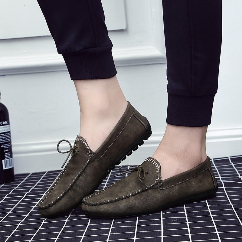 Confortable Noir À Et Chaussures gris Portable kaki Automne Casual Mode Respirant La zx7UHtU