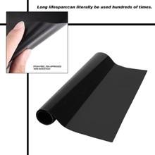 3 шт многоразовый антипригарный коврик для барбекю Гриль коврик для выпечки лист сетки портативный инструмент для приготовления барбекю на открытом воздухе для пикника
